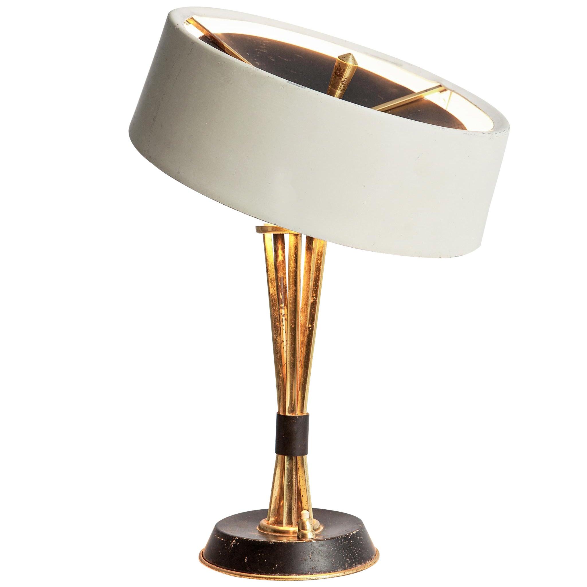 Oscar Torlasco for Lumi Milano Swiveling Table Lamp