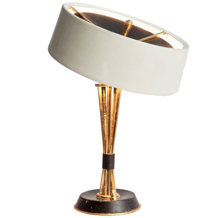 Oscar Torlasco for Lumi Milano Swiveling Table Lamp For Sale