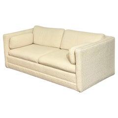 1970s Vintage Modern Sleeper Sofa