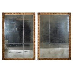 Pair of tall Giltwood Mirrors in the Hollywood Regency Style