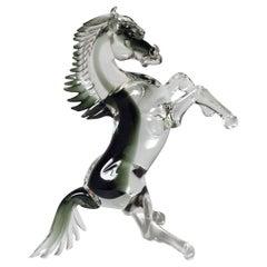 Italian Murano Glass Horse