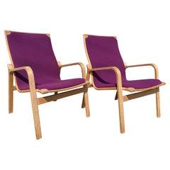 Pair of Mid-Century Danish Modern Lounge Chairs