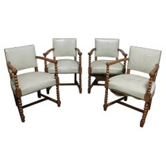 French Mid-20th Century Pairs of Armchairs