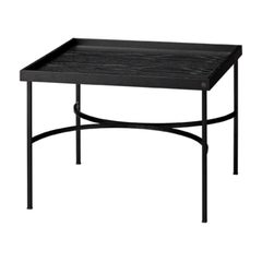 Black Contemporary Tray Table