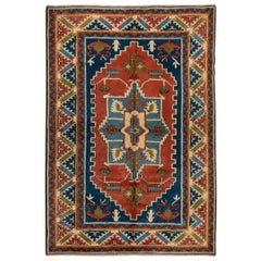 Hand-Knotted Turkish Area Rug, Soft Medium Pile, Excellent, Brand New