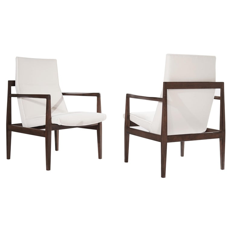 Set of Lounge Chairs by Jens Risom, c. 1960s For Sale