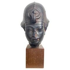 Egyptian Terracotta Copy of Head