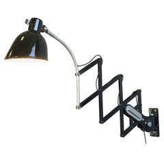 Scissor Lamp by Schaco, Circa 1930s