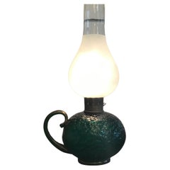Venini Table Lamp Murano Glass Brass, 1940, Italy