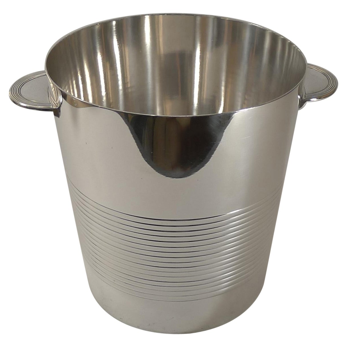 Luc Lanel for Christofle, Champagne Bucket / Wine Cooler, Vulcan c.1940