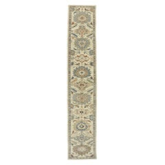 New Contemporary Persian Sultanabad Runner with Modern Transitional Style
