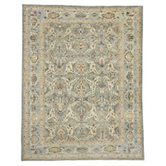 New Contemporary Persian Sultanabad Rug with Modern Coastal Style