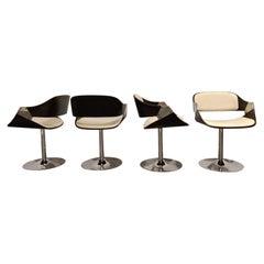 Vintage Swivel Chairs by Rudi Verelst, 1970s