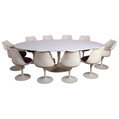 Early Eero Saarinen for Knoll Tulip Dining Set