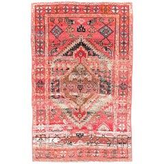 Mid-20th Century Handmade Persian Malayer Accent Rug