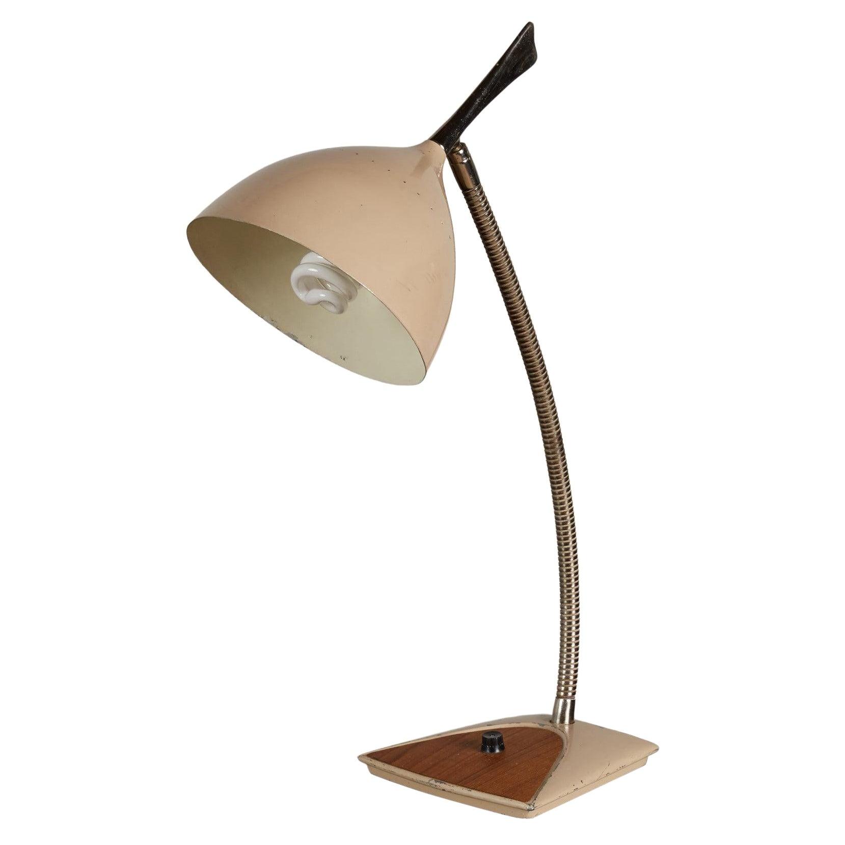 Gerald Thurston for Lightolier Desk Lamp