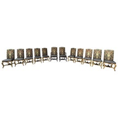 12 Minton Spidell Dining Room Chairs