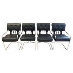 4 Tucroma Chairs by Guido Faleschini for i4 Mariani, Italy, 1971