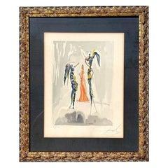 """Salvador Dali """"Divine Comedy"""
