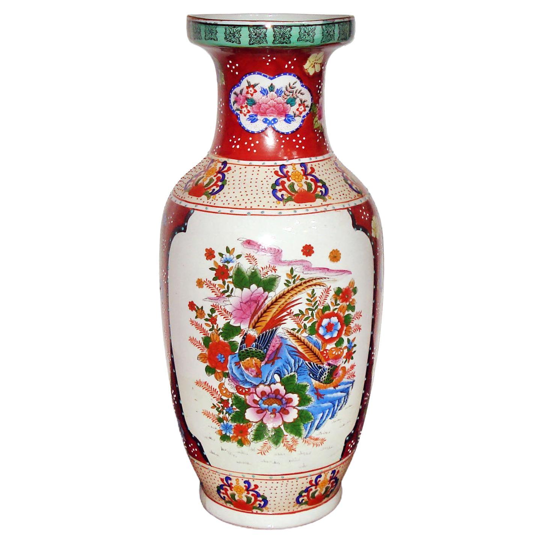 Large Porcelain Vase, Japan Mid 20th Century