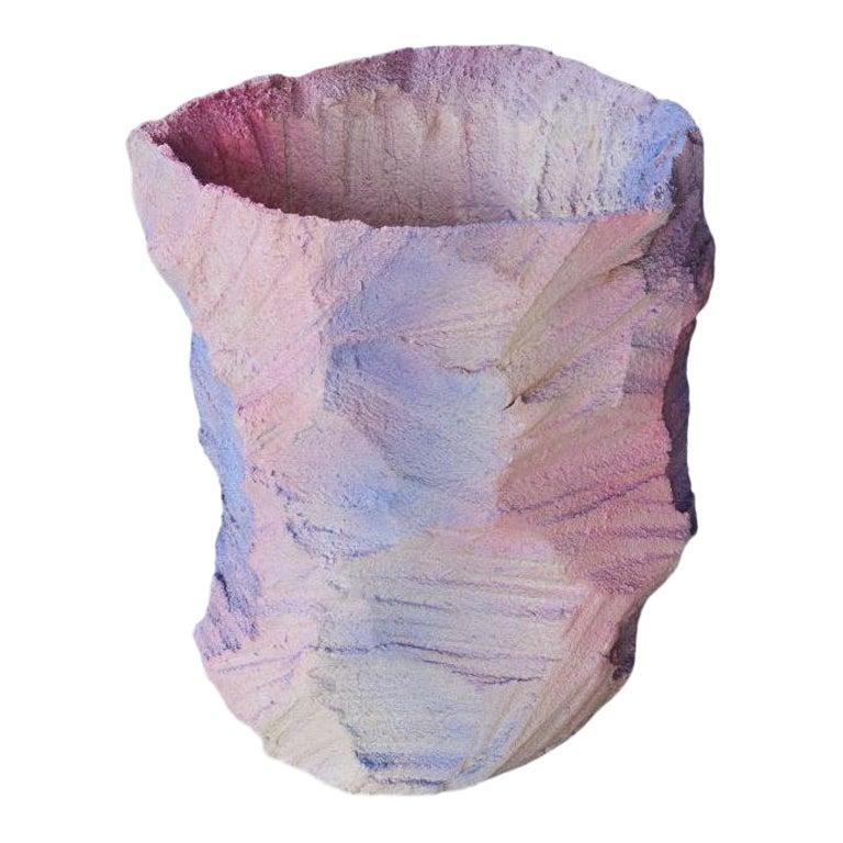 Crystal Rock Vase by Andredottir & Bobek
