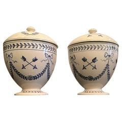"""Gio' Ponti """"Stile"""" Potiche Ceramic 1950 Italy"""