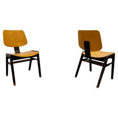 Vintage Plywood Chairs, 1970s