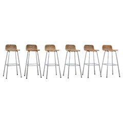 Charlotte Perriand Style Bar Stools