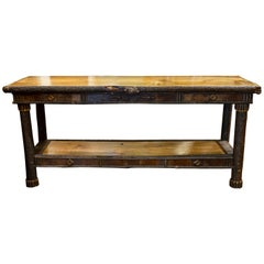 Cisco's Adirondack Hall Table