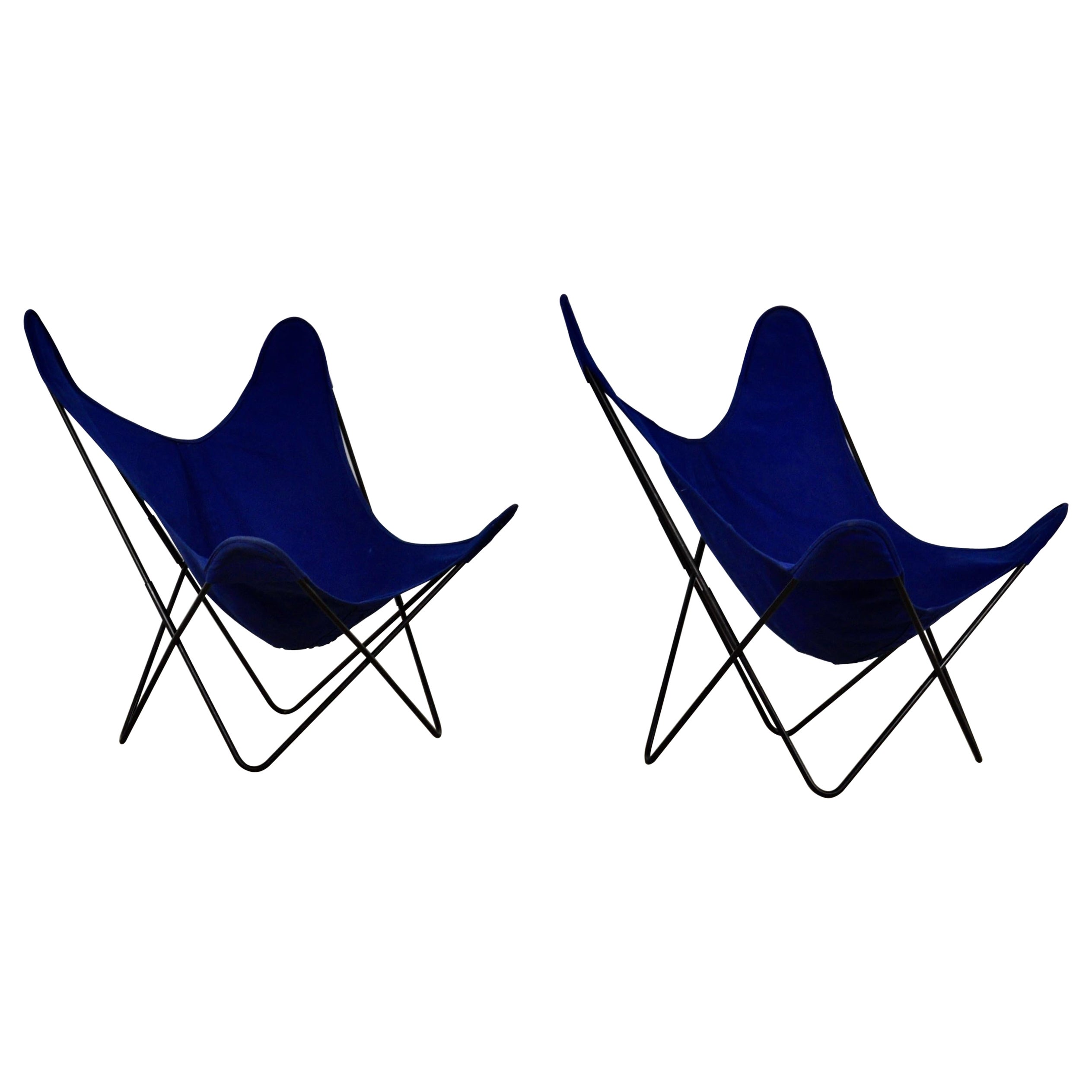 Chairs Butterfly a by Jorge Ferrari-Hardoy for Knoll Inc Set 2