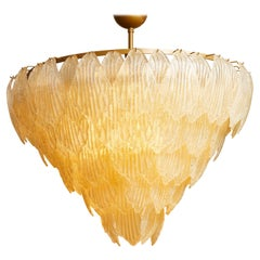 Murano Glass Chandelier by Studio Glustin