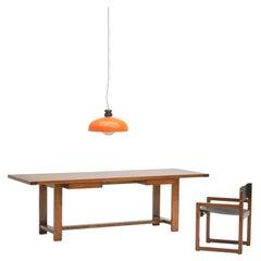 Oak Dining Table 1970
