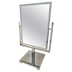 Charles Hollis Jones Double Sided Polished Chrome Mirror
