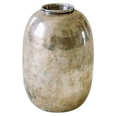 D.i.M. Patinated Silver-Plated Vase, c. 1930