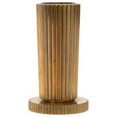 Tinos Denmark, Solid Bronze Vase, c. 1940