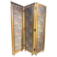 "Original Beautiful ""Paravent"" Design in the Style of Gustav Klimt"