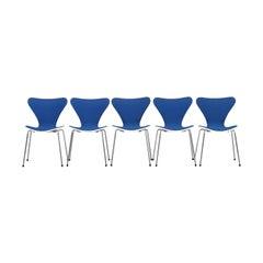 Set of Five Butterfly Chairs by Arne Jacobsen for Fritz Hansen, Denmark, 1979