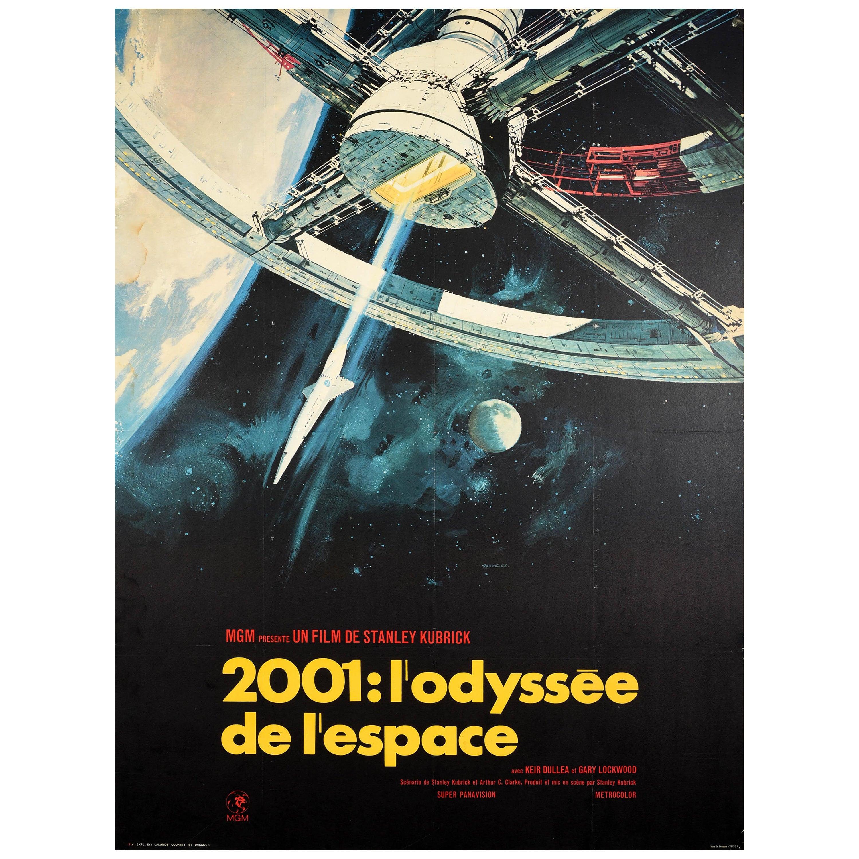 Original Vintage Film Poster 2001: A Space Odyssey Stanley Kubrick Sci-Fi Movie