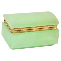 Italian Alabaster Jewelry Box