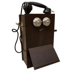 Ericsson Wall Phone from 1937, Full Oak