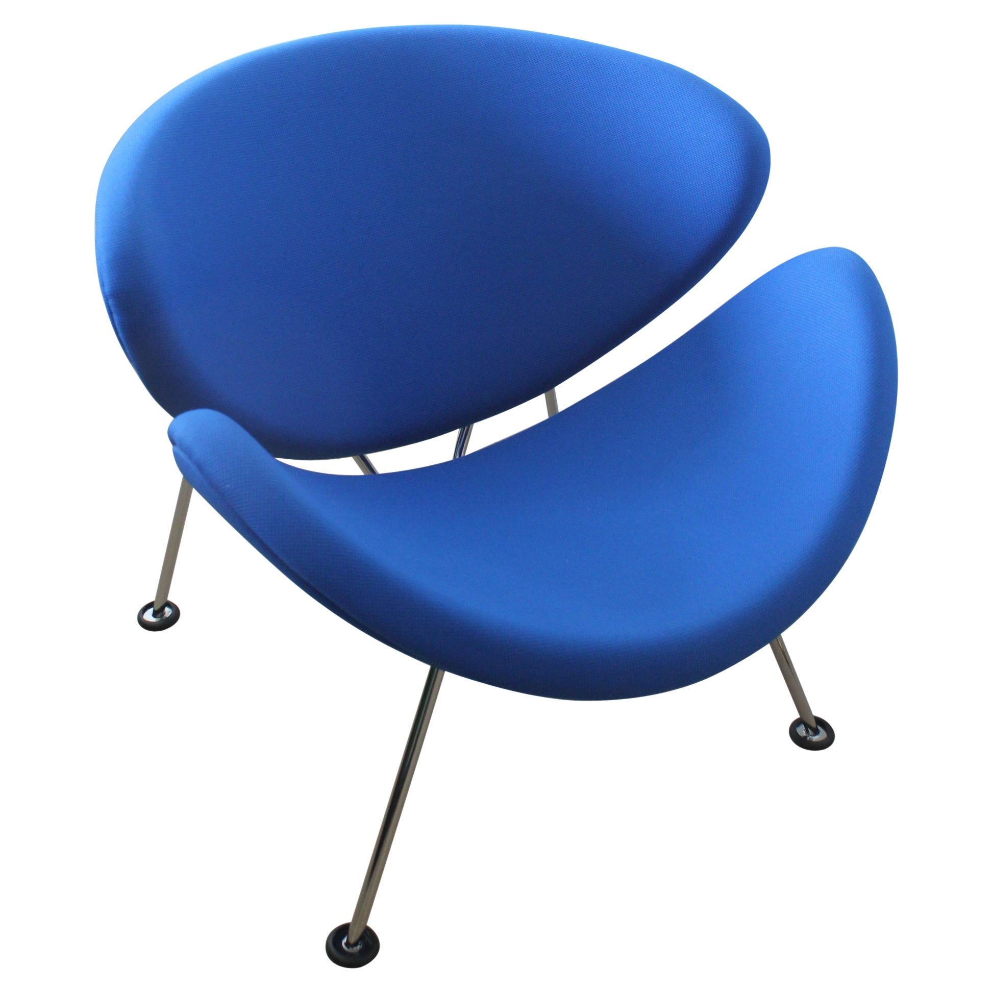 Artifort Orange Slice Blue Junior Chair by Pierre Paulin