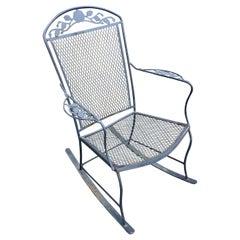 Vintage Modern Outdoor Garden Rocking Chair