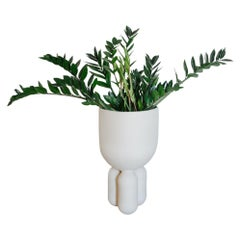 Planter Clay Vase 30 by Lisa Allegra