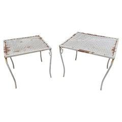 Vintage Modern Garden End Tables