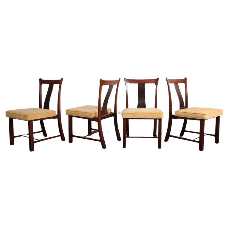 Four Dining Chairs by Edward Wormley for Dunbar For Sale