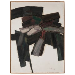 Abstract Painting by Carmine Di Ruggiero, Italy 1962