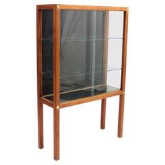 Carl Gustaf Hiort Af Ornäs, Teak Vitrine Display Cabinet, 1950s