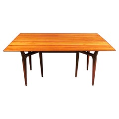Vintage Modern Fold Out Dining Table by Heritage Henredon