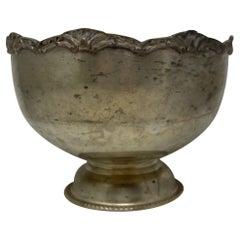 Hotel Silver Champagne Bowl