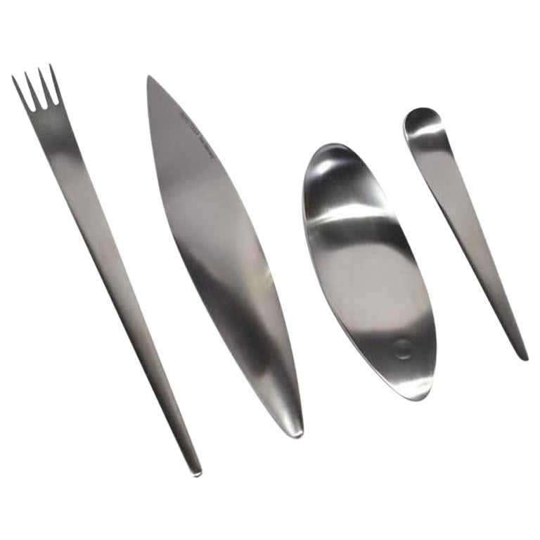 Mono Tools 4-Piece Flatware Set in Stainless Steel